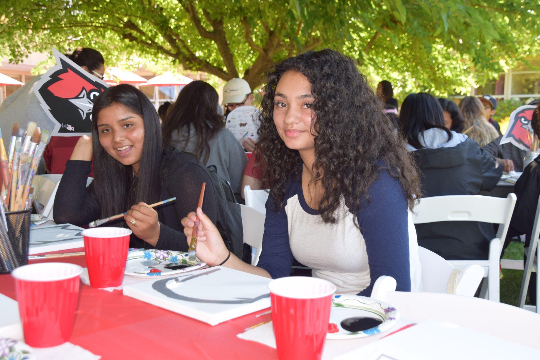 Student Ambassadors at Hawk Day