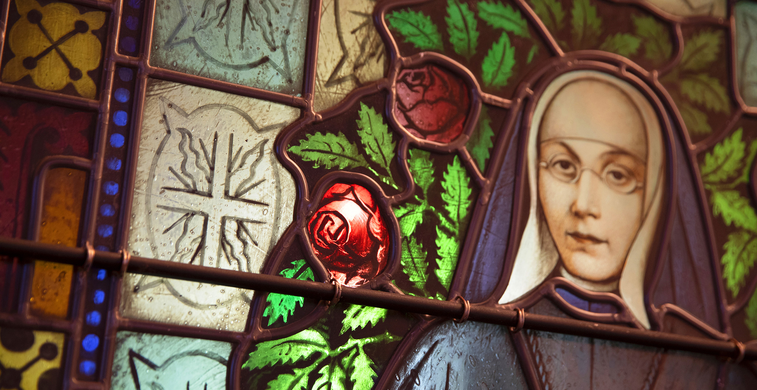 Sister Marie-Rose Durocher Stained Glass