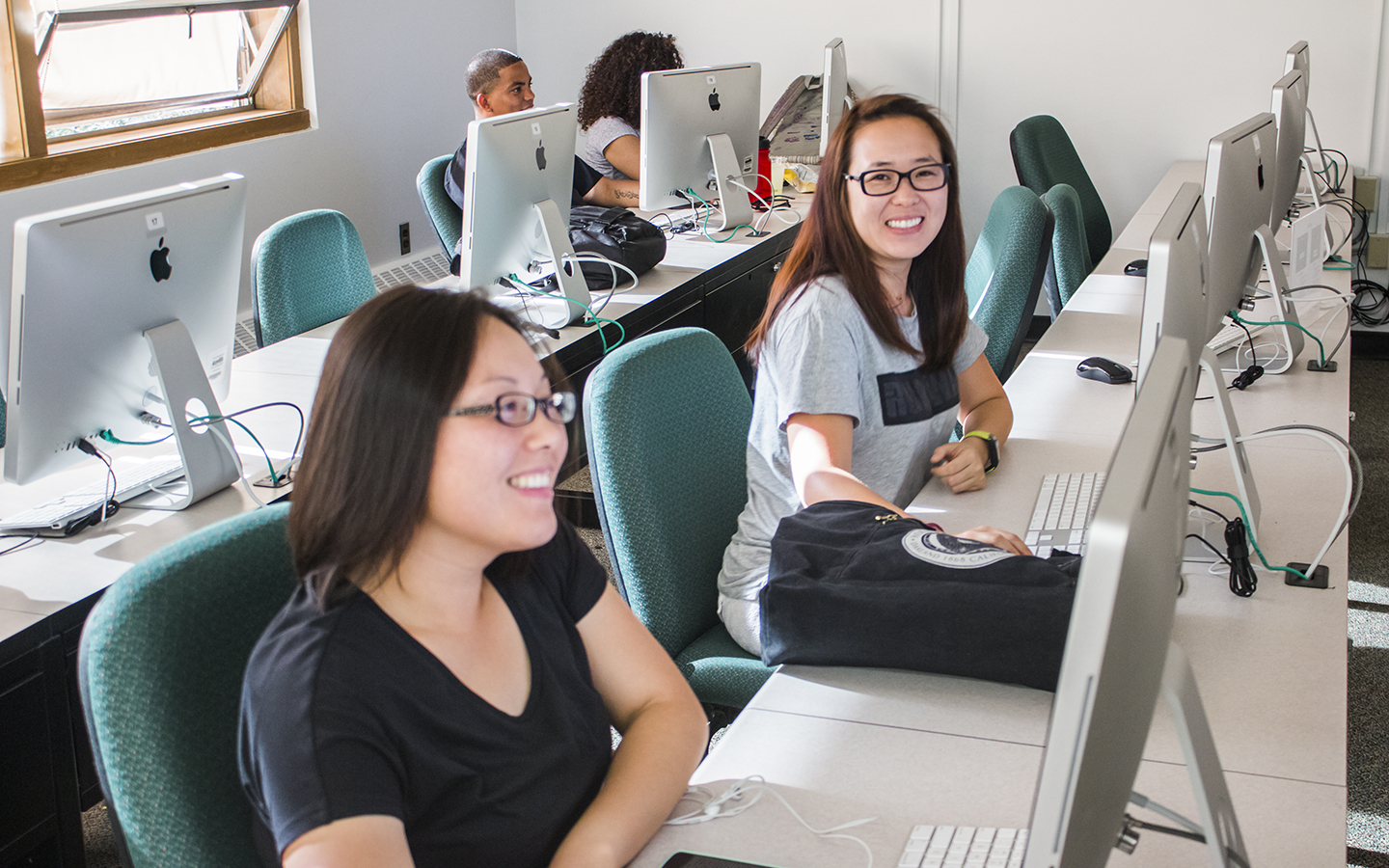 HNU students in the classroom