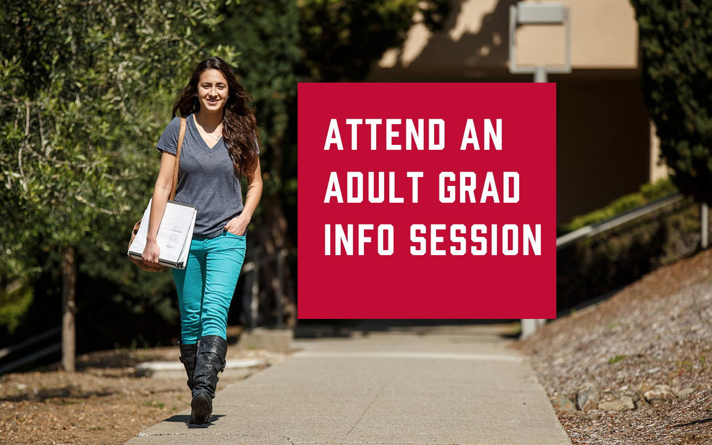 Attend an Infosession