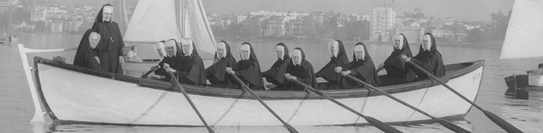 Sisters sailing on Lake Merritt