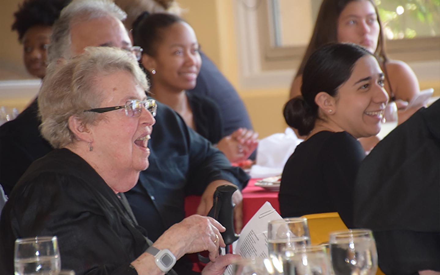 Holy Names University community members celebrating Founders' Day 2019