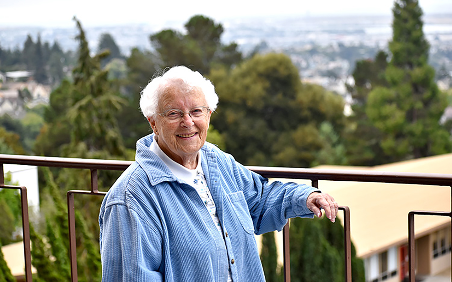 Sister Mary Rogers, alumna of Holy Names University