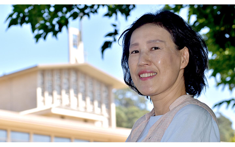 associate professor of religious studies and philosophy Sister Sophia Park
