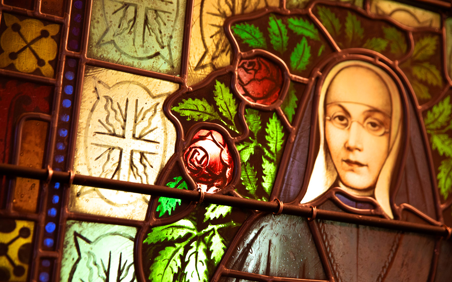 Stained Glass in McLean Chapel