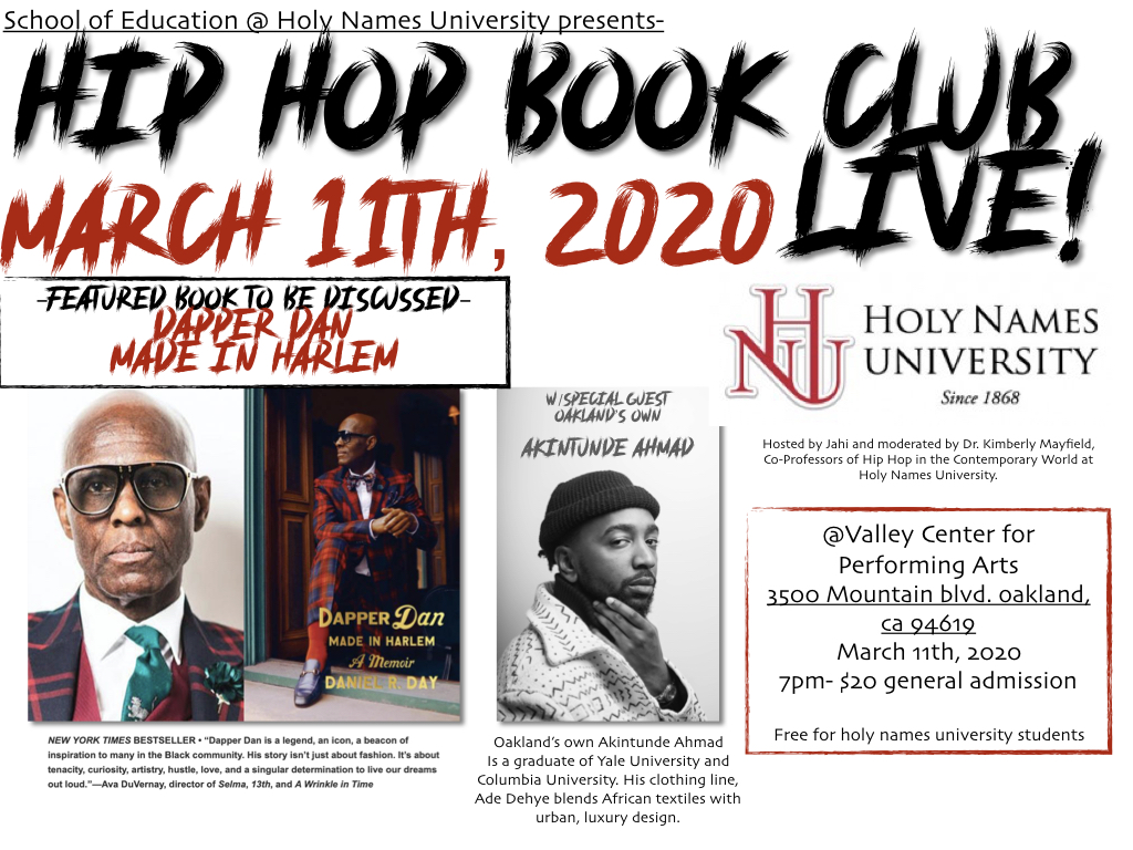 Hip Hop Book Club LIVE!