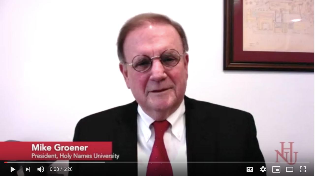 President Mike Groener Video