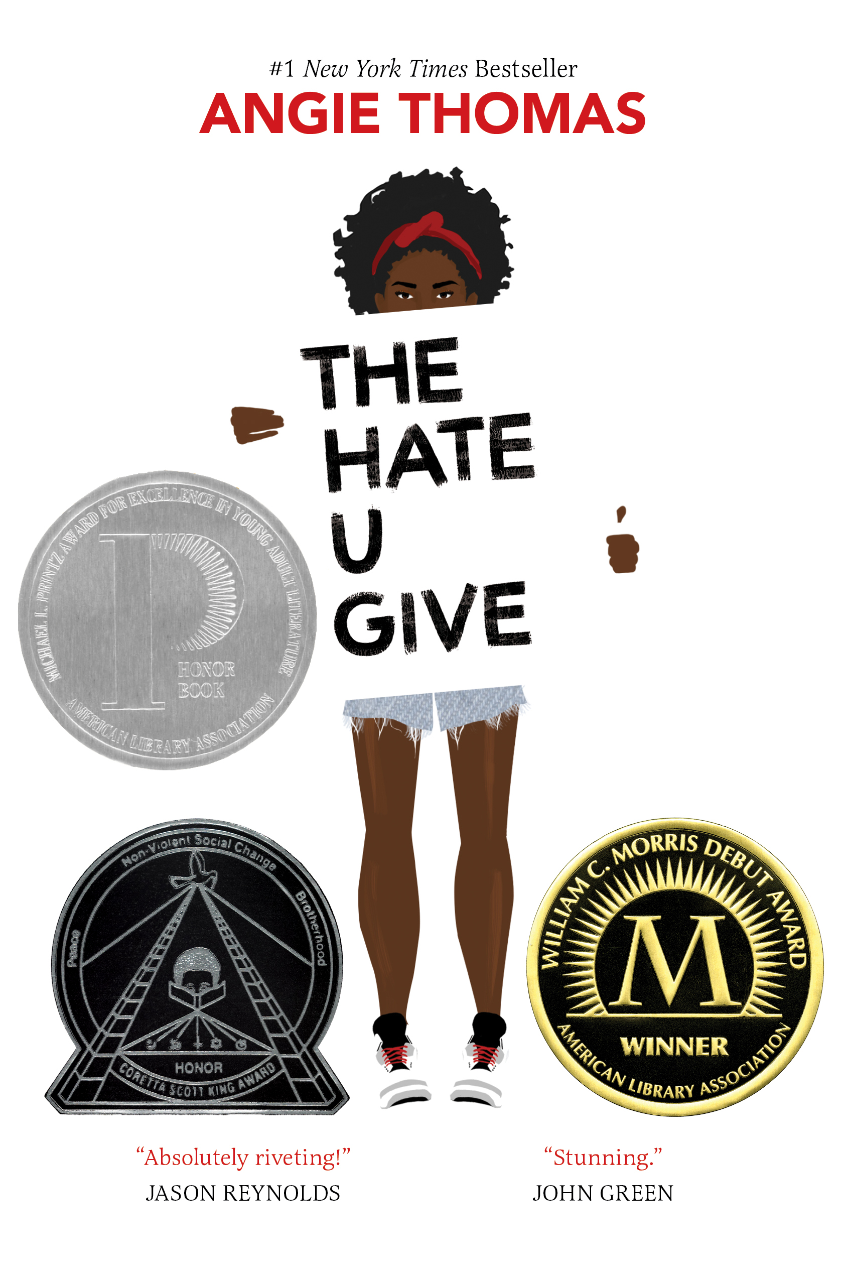 The Hate U Give by Angie Thomas awards and honors