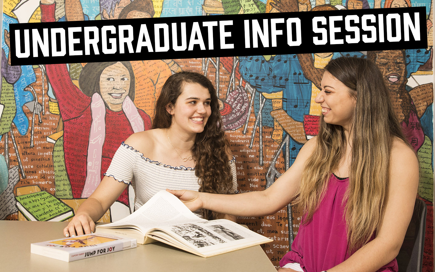Undergraduate info session