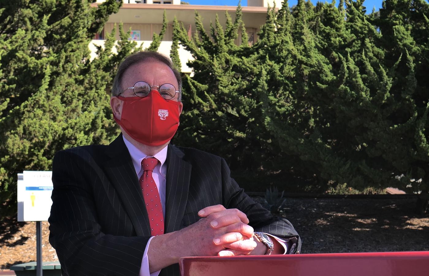 HNU President Mike Groener