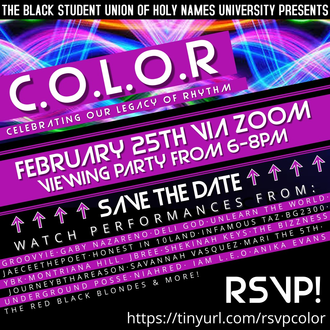 Black Student Union of HNU celebrating our legacy of rhythm viewing party