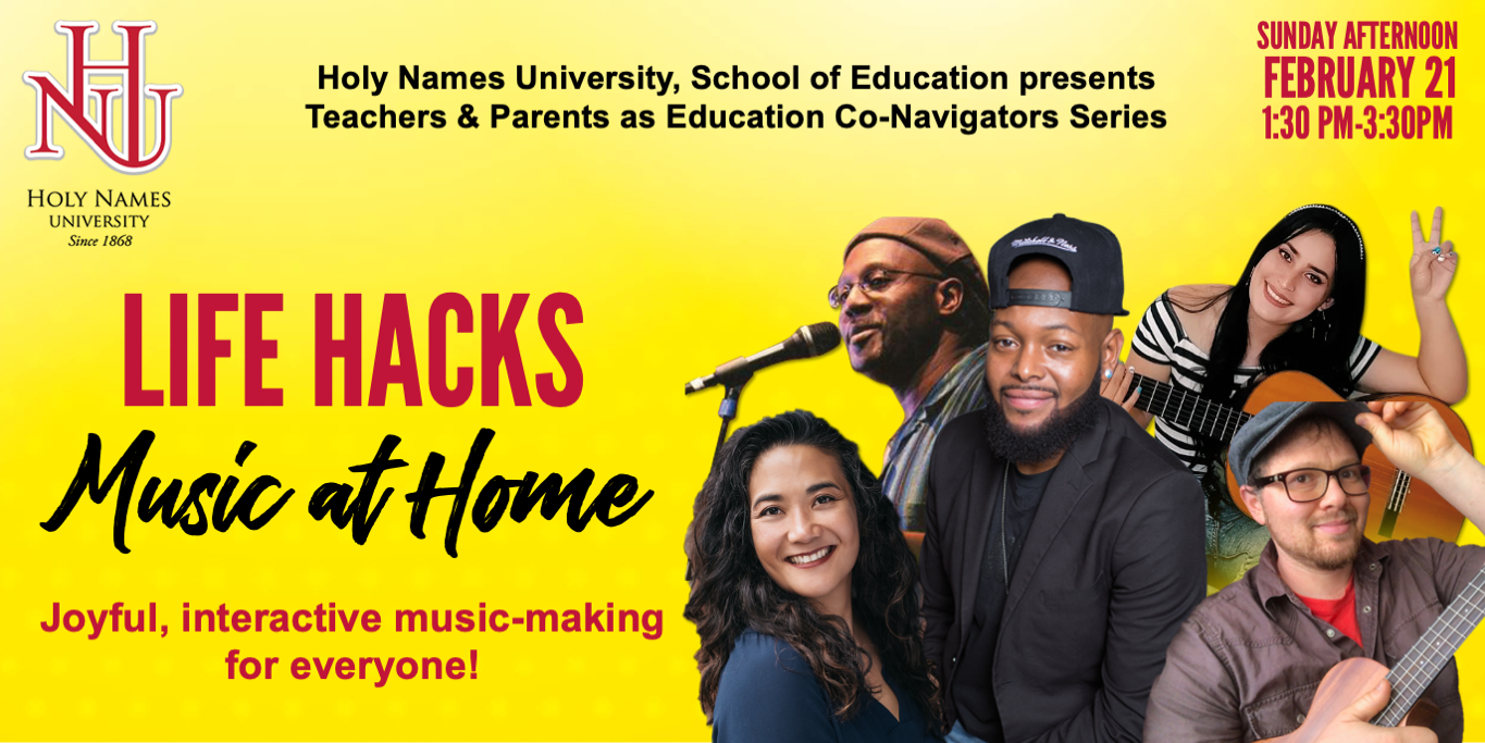 HNU School of Education life hacks music at home