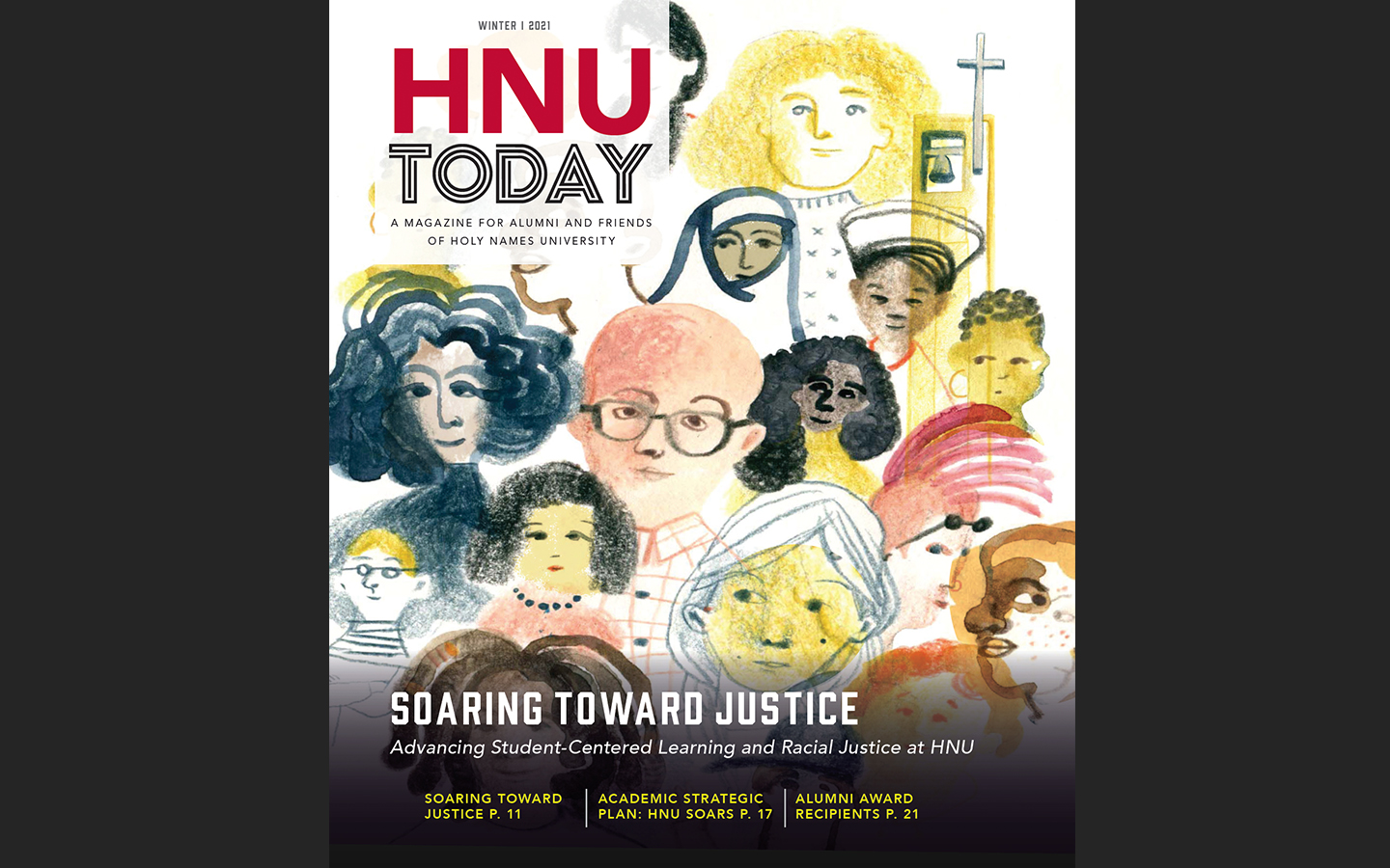 HNU Today magazine cover