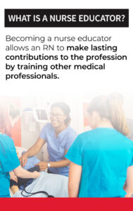 what is a nurse educator