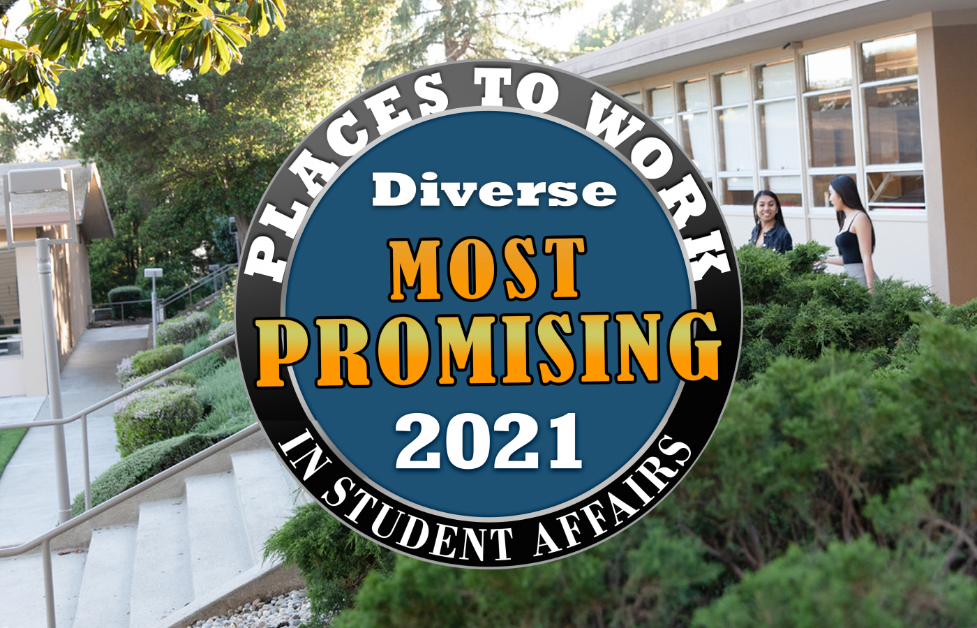 """Holy Names University named one of the """"Most Promising Places to Work in Student Affairs"""""""